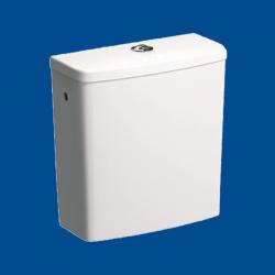 WC spłuczka prostokątna do kompaktu dla osób niepełnosprawnych