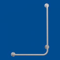Uchwyt Kątowy dla Niepełnosprawnych prawy 80/40cm biały fi25