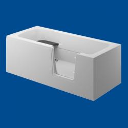 Obudowa wanny panel boczny biały uniwersalny VOVO / AVO 180cm