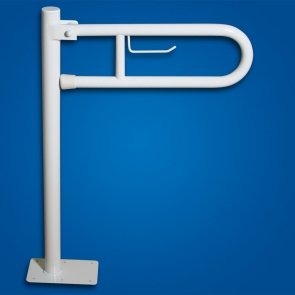 Uchwyt Uchylny WC wolnostojący 60cm PAPier biały fi32