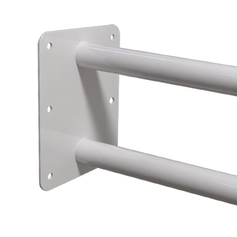 Uchwyt Umywalkowy / WC dla Niepełnosprawnych stały 70cm biały fi32
