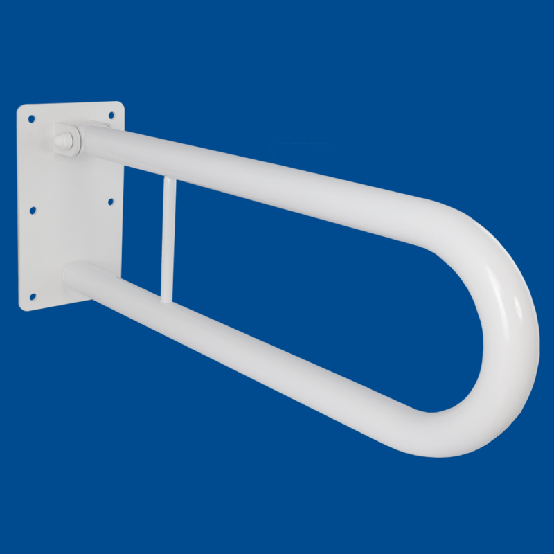 Uchwyt Uchylny dla Niepełnosprawnych 70cm biały fi32