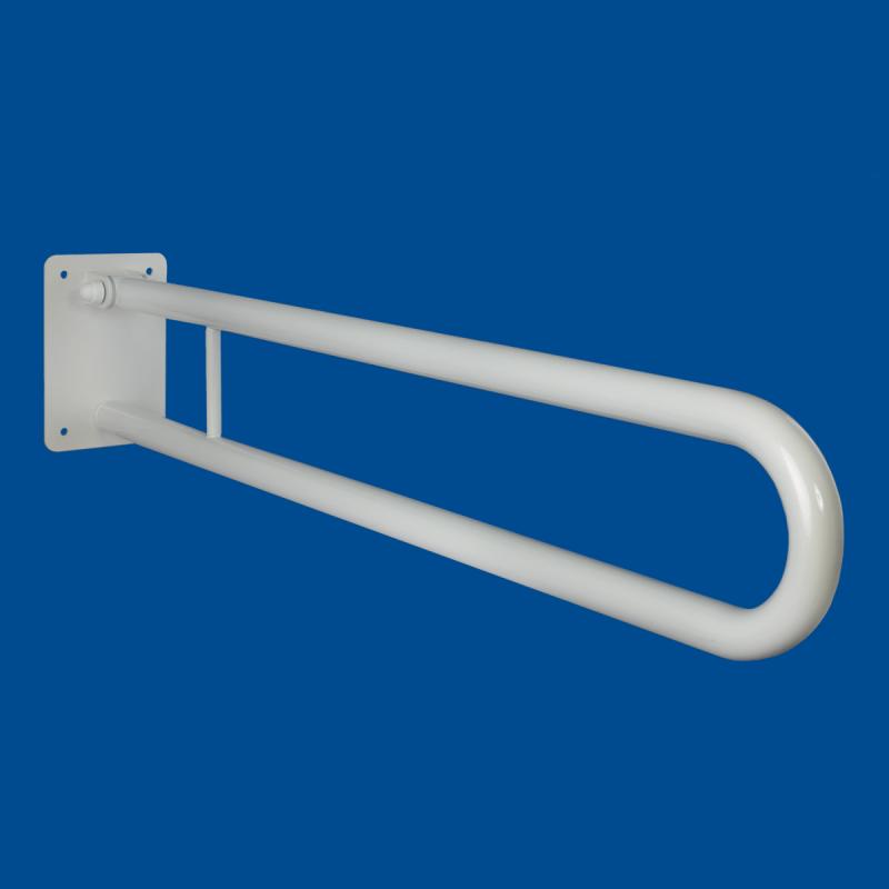 Uchwyt Uchylny dla Niepełnosprawnych 60 cm biały fi25