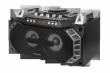 Boombox z funkcją Bluetooth i karaoke, radiem FM i mikrofonem