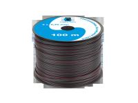 Kabel głośnikowy CCA 0.35mm czarny