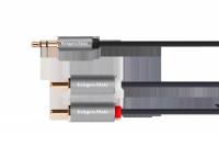 Kabel jack 3.5 wtyk stereo - 2RCA 5m Kruger&Matz Basic