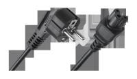 Kabel zasilający do laptopa (koniczynka)