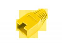 Osłona gumowa wtyku 8p8c żółta