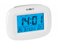 Zegar wielofunkcyjny (czas, data, budzilk, temperatura, dzien tygodnia)