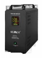 Awaryjne źródło zasilania KEMOT PROsinus-500S przetwornica z czystym przebiegiem sinusoidalnym z wbu
