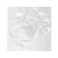 Rękawiczki foliowe jednorazowe (zrywki) 1kpl.=100szt.