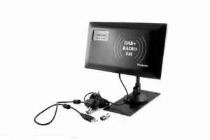 Antena FM+DAB SLIM radiowa Wiedyska