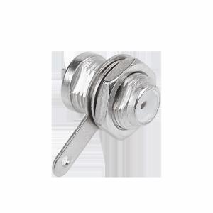 Gniazdo F montażowe krótkie Cabletech