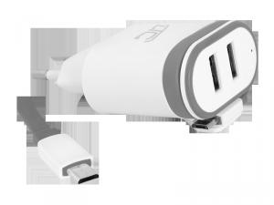 Ładowarka sieciowa micro USB 2000 mA LXG276