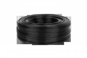 Kabel 2 x RCA-4mm czarny