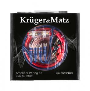 Zestaw montażowy do wzmacniaczy Kruger&Matz KM0011