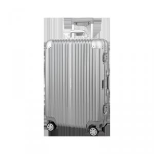 Średnia walizka na kółkach Kruger&Matz srebrna