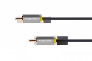 Kabel 1RCA-1RCA 1m Kruger&Matz Basic