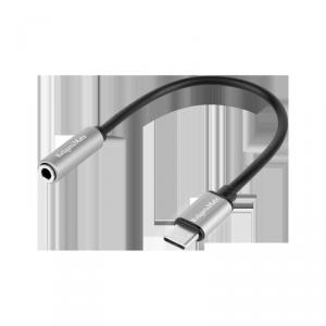 Adapter wtyk USB typu C - gniazdo jack 3.5 stereo Kruger&Matz Basic