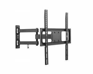 Uchwyt do ściany Kruger&Matz do LED TV 32-55 cali  czarny (regulacja w pionie i w poziomie)