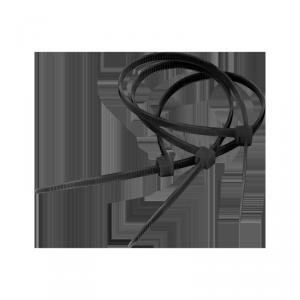 Opaska zaciskowa 4,8 mm/25 cm czarna Cabletech 100szt.