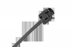 Opaska zaciskowa stalowa z powłoką nylonową 30cm. x 6.3mm