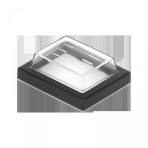 Osłona przełącznika kołyskowego prostąktnego szerokiego
