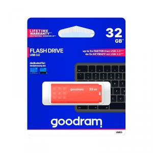 Pendrive Goodram USB 3.0 32GB pomarańczowy