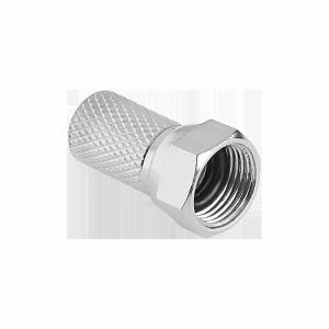 Wtyk SAT F 6,8 mm + uszczelka CU Cabletech