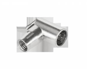 Wtyk SAT F kątowy szybkozłączny WKS107(śr.kabla6,9...7,3mm)-TELMOR
