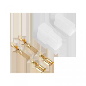 Obudowa konektorów 2kr wtyk+gniazdo