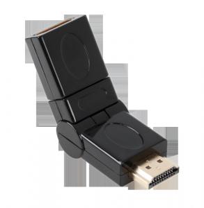 Złącze HDMI gniazdo-wtyk z możliwością rotacji