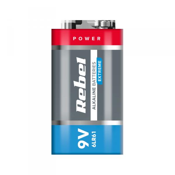 Bateria alkaliczna VIPOW EXTREME 9V 6LR6