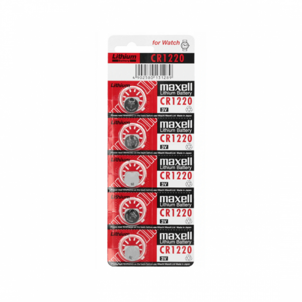 Bateria Maxell CR1220 5szt/Blist.
