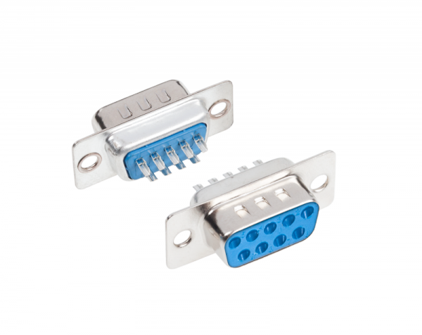 Gniazdo DB9 montażowe Cabletech