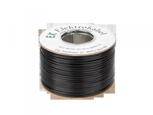 Kabel głośnikowy SMYp 2 x 0,75mm czarny 100m