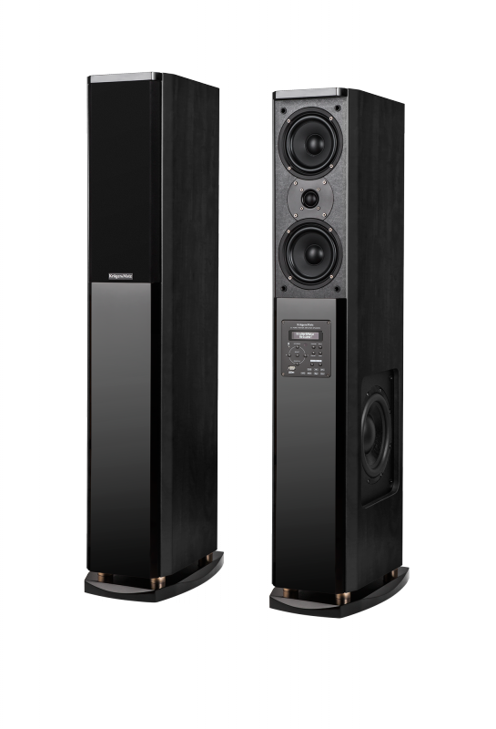Kolumny głośnikowe aktywne Kruger&Matz  Passion, zestaw 2.0, kolor czarny