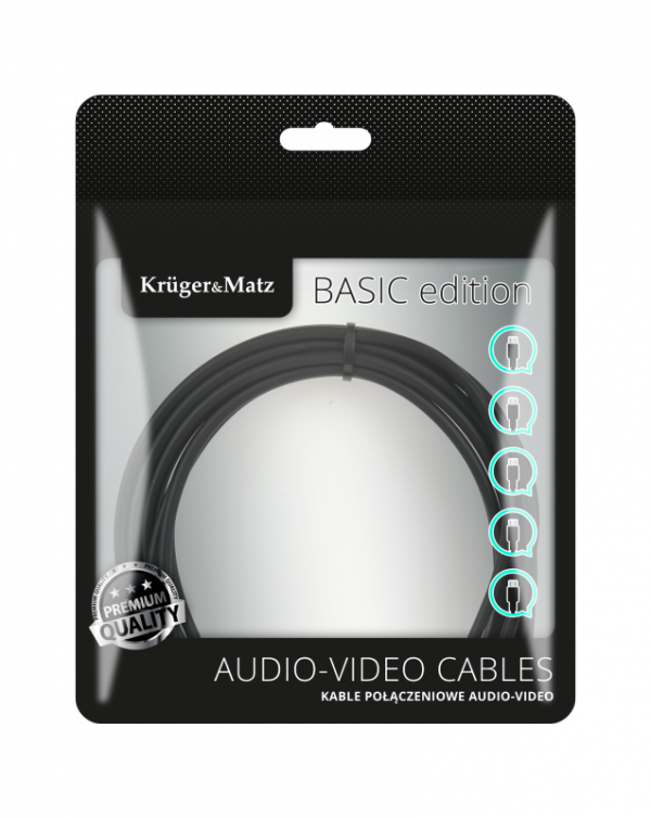 Kabel optyczny 0.5m Kruger&Matz Basic