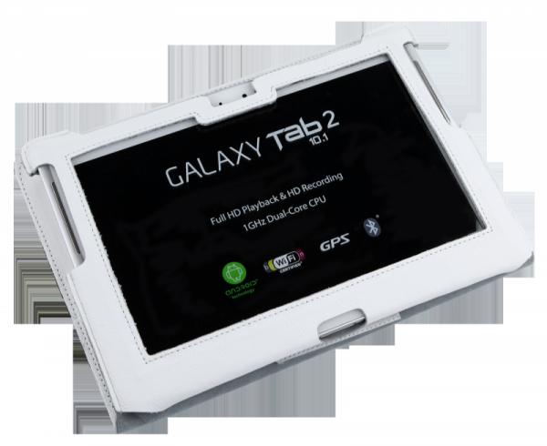 Etui białe dedykowane do Samsung Galaxy Tab P5100