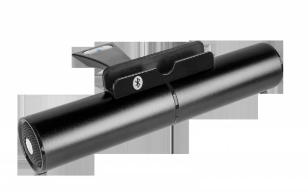 Uniwersalny głośnik Bluetooth - podstawka do tabletów Quer - kolor czarny