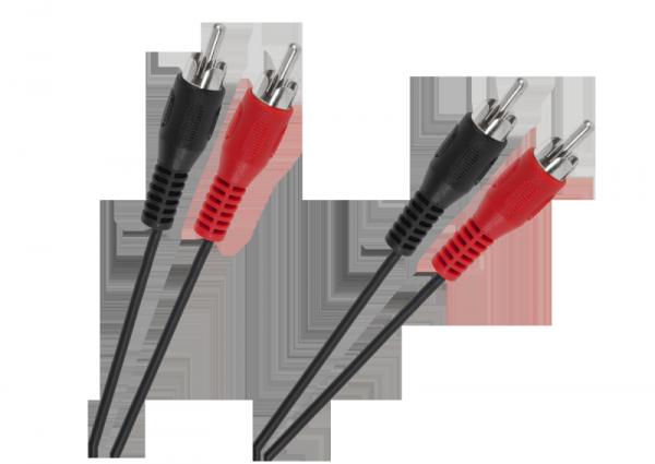 Kabel 2 x RCA -2 x RCA 1,2m