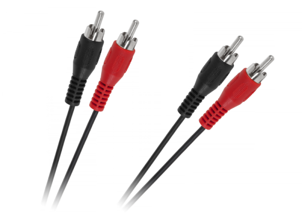 Kabel 2 x RCA - 2 x RCA 1,8m