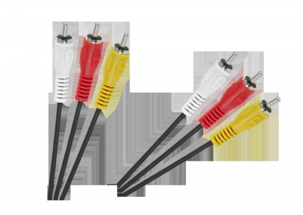 Kabel 3 x RCA - 3 x RCA 1,5m