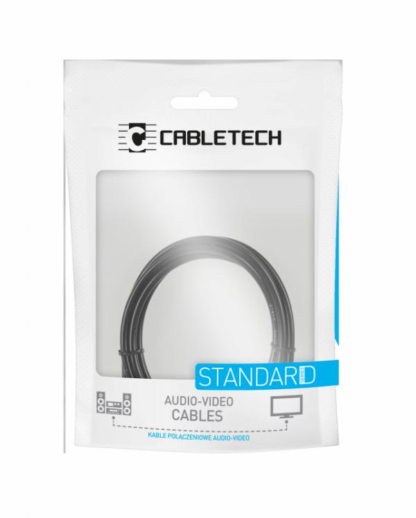 Kabel JACK 3.5 wtyk-gniazdo 1.8m Cabletech standard