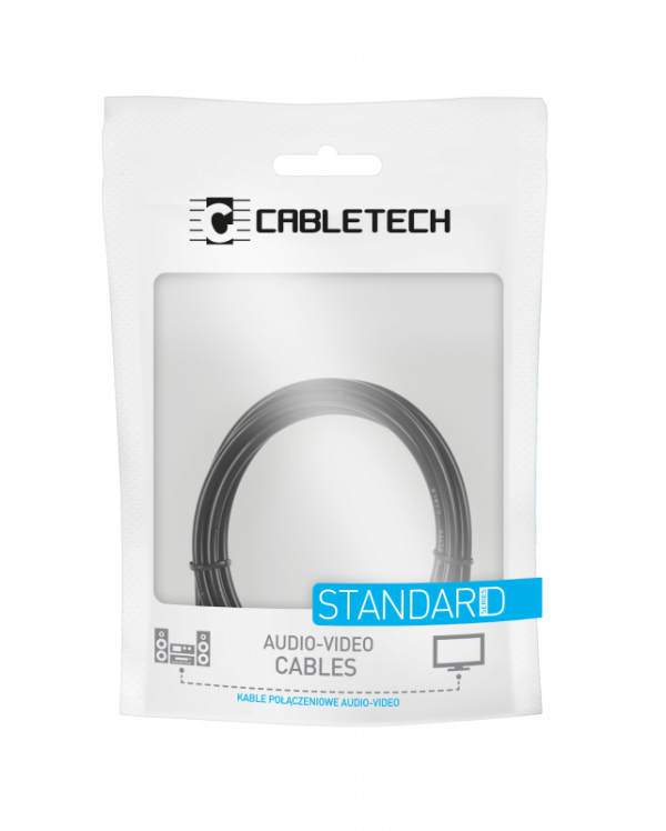 Kabel 2RCA-2RCA 1m Cabletech standard