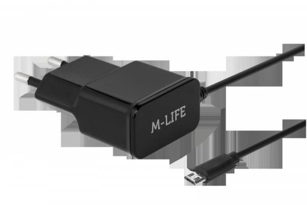 Ładowarka sieciowa REBEL micro USB 1000 mA