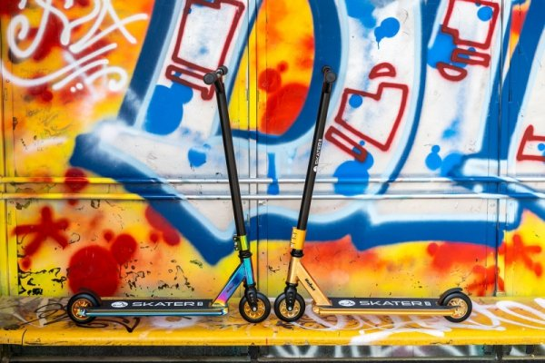 Hulajnoga wyczynowa REBEL SKATER PRO NEON
