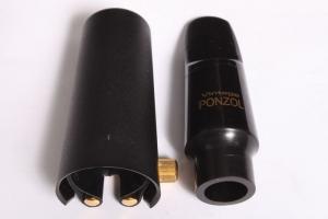 Ustnik do saksofonu altowego Peter Ponzol ebonit Vintage