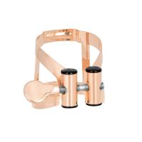 Ligaturka do saksofonu barytonowego Vandoren M/O pink gold