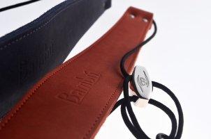 Pasek do klarnetu B/A Bambu CRC double leather (4 kolory)